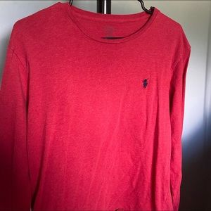 Polo red long sleeve T-shirt